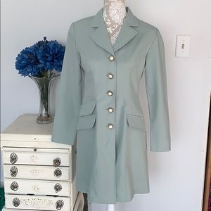 Vintage Alyn Paige trench dress